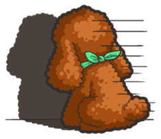 Hi! Poodles sticker #6968626