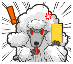 Hi! Poodles sticker #6968628