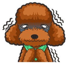 Hi! Poodles sticker #6968629
