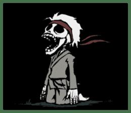 skeleton_karate sticker #6969278