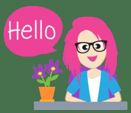 Jezzy Office Girl sticker #6973840