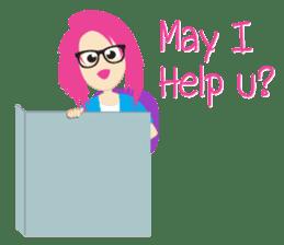 Jezzy Office Girl sticker #6973848