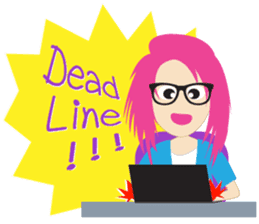 Jezzy Office Girl sticker #6973850