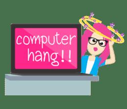 Jezzy Office Girl sticker #6973854