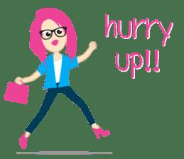 Jezzy Office Girl sticker #6973856