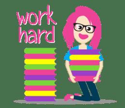 Jezzy Office Girl sticker #6973861