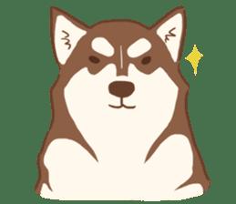 1 Day Of Siberian Husky By Jikkoro Sticker 6977760