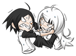 Eka&Eda Ver.2 sticker #6980755