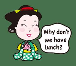 Geisha Mame-giku sticker #6982556