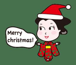 Geisha Mame-giku sticker #6982562