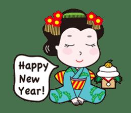 Geisha Mame-giku sticker #6982563