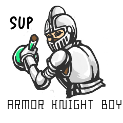 Armor knight boy(English version)