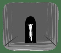 Bella, the adolescent ghost girl! sticker #6986329