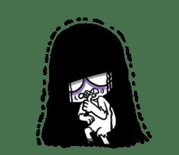 Bella, the adolescent ghost girl! sticker #6986361