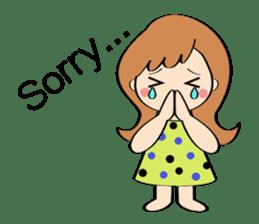 Everyday Greeting by Hawaiian Girl sticker #6986547