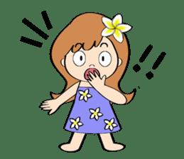 Everyday Greeting by Hawaiian Girl sticker #6986548