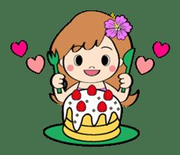 Everyday Greeting by Hawaiian Girl sticker #6986549