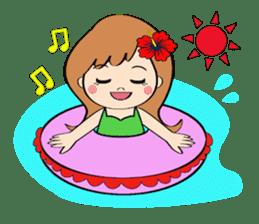 Everyday Greeting by Hawaiian Girl sticker #6986551