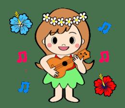 Everyday Greeting by Hawaiian Girl sticker #6986552