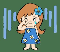 Everyday Greeting by Hawaiian Girl sticker #6986561
