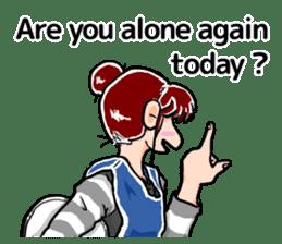 Daily life of Tamaki sticker #6986571