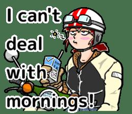Daily life of Tamaki sticker #6986577