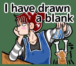 Daily life of Tamaki sticker #6986582