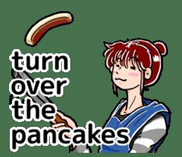 Daily life of Tamaki sticker #6986583