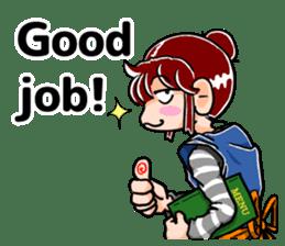 Daily life of Tamaki sticker #6986596