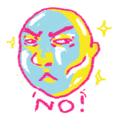 Bald heads sticker #6987971
