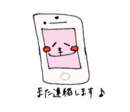 Healing axolotl sticker sticker #6988098