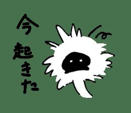 Mr. Black-faced Spoonbill sticker #6988312