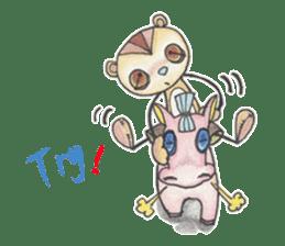 Maro and Keita 2nd sticker #6989228
