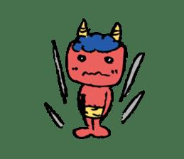 the thunder boy sticker #6989797