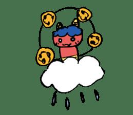 the thunder boy sticker #6989805