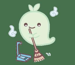 Moss Ghost sticker #6991421