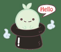 Moss Ghost sticker #6991430
