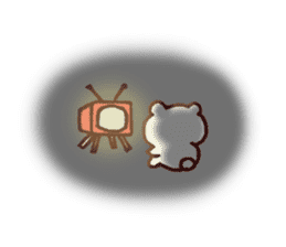 Kagoshima dialect polar bear sticker #6993204