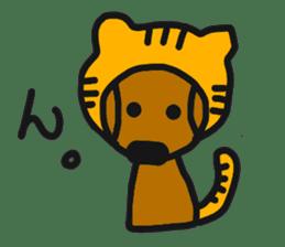 Talking dachshund 4 sticker #6993730