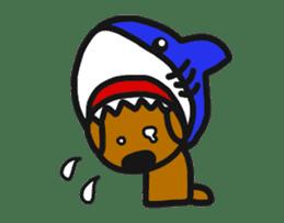 Talking dachshund 4 sticker #6993735