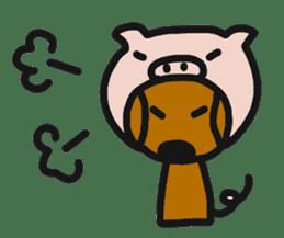 Talking dachshund 4 sticker #6993747