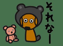 Talking dachshund 4 sticker #6993748