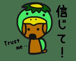 Talking dachshund 4 sticker #6993753