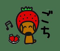 Talking dachshund 4 sticker #6993761