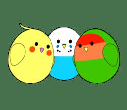"Tokyo bird cafe ""kotoricafe"" Vol.1 sticker #6995314"
