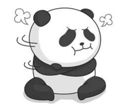 Panda Yuan-Zai sticker #6997145