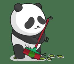 Panda Yuan-Zai sticker #6997161