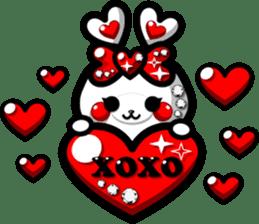 LOVELOVERABBIT sticker #6998054