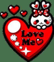 LOVELOVERABBIT sticker #6998056