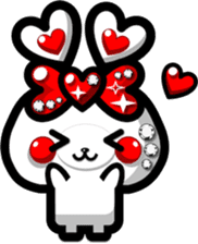 LOVELOVERABBIT sticker #6998073